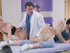 Horny Doctor Shoves His Fat Shlong In Wet Teen Pussy