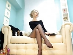 Nasty and perverted whores prefer nylons