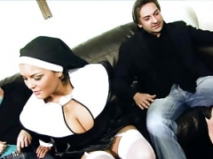 Jasmine Black and plus Tarra White make love 2 men in fourway sinners