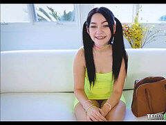lovely nubile With Braces And Pigtails Karly Baker Team Skeet casting