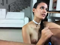 Huge tity brunette blowjob doggystyle fuck