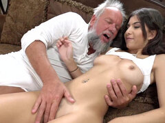 Anya Krey likes older cock that pounds her like no young man can