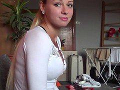 Unbelievable Hot Czech Blonde