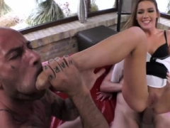 Alexis Crystal feed absolutely all her hole with giant cum cannon