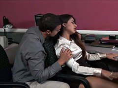 Jynx Maze Fucks In Office