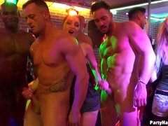 Crazy sex video from the night club