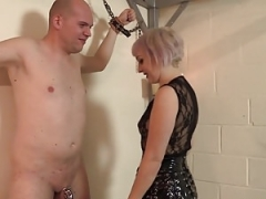 A Painful Session with Dom Petite - Time to Scream