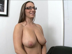 Shy girl Jasmin first porn auditions