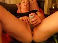 Carolineluder with sextoy