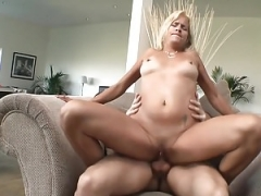 Pink slit Pierced Mom Blows And Fucks Ramrod