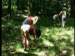 German girls loving those thick bones up their holes