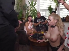 Blonde Bombshell Isabella Clark Humiliated with Rectal