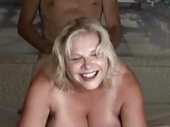 Real bbw mature anal sex