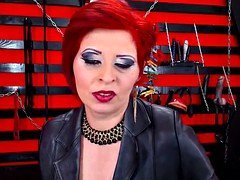 Delicious Red Head Dom Sexually available mom Smoking On Cam In Boots