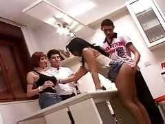 Ladyboy In Sex Shop