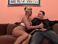 Aroused Blonde Cougar Can Never Get More than enough Dick!