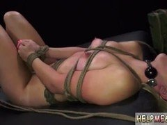 Claire's man dominated wrestling and fucked rough throat gag