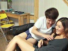 Korean Porno NEW Lucky Virgin Korean Babel!