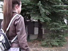 Russian 18-19 y.o. tourist bangs stranger in public