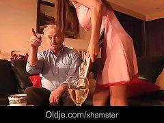 Alice Romain booty fucked by grandpa she is so hot