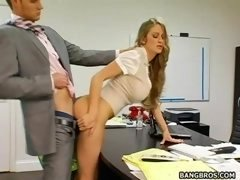 Abby Rode secretary get down and dirty
