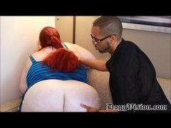 first Movie for Young SSBBW 50EE Bra buddies and besides Huge 62in Bum
