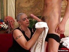 Granny Loves Large Dick