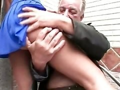 Young and fresh bitch tools brazilian Grandpa