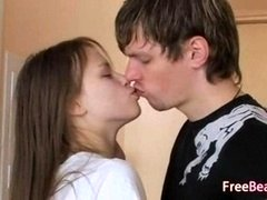 Extreme teenage Rectal Sex On The Floor