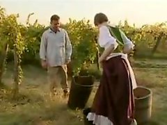 Excited French Villagers Try Anal
