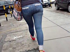 SEXY Teenage IN JEANS TIGHT