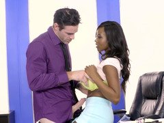 Ebony coquette does everything it is possible for career