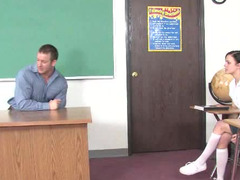 A firm immature body is getting penetrated by a strong teacher