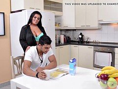 Boobalicious Step Mom Jasmine Black gets Deeply Fucked by Son