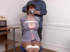 Kristine Chairtied and also Groped