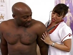 Big titted Sexually available mom is the best nurse around