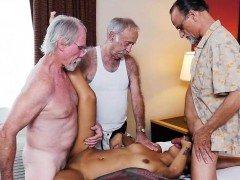 Gangbanged by aged fellas