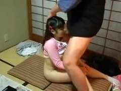 Young teen girls get fucked after the class