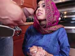 Ada a excited Arab 18-19 y.o. gets fucked and filled with cum
