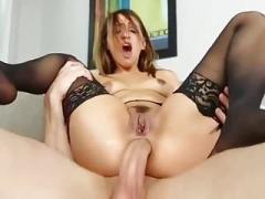 black stocking anal 9