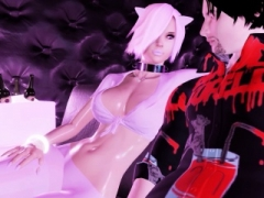 Emo Kitty Gets Her Feet Used And furthermore Cummed On In 3D Adult Game