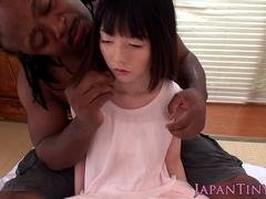 All kinds of tongue action, licking and then some