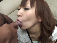 Asian peach does her job well in hot porno segment