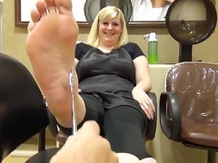 Chunky Blonde Feet and Soles