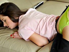 Dirty Flix - PMS floozy fucked by a step bro