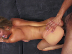 Fucking hot milf Alexis Fawx and making the babe cum