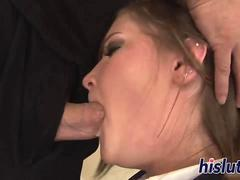 Cassidy takes a dick up her ass