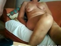 Huge orgasm of a 64yo granny