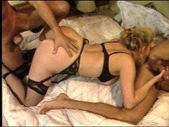 Joy Karin Double penetration - Italien Classic 90s