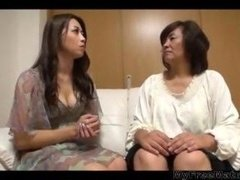 34yr Aged Maki Houjo Picks Up 2 Ageds Vol 2 (uncensored) old old porno granny old cumshots cumshot
